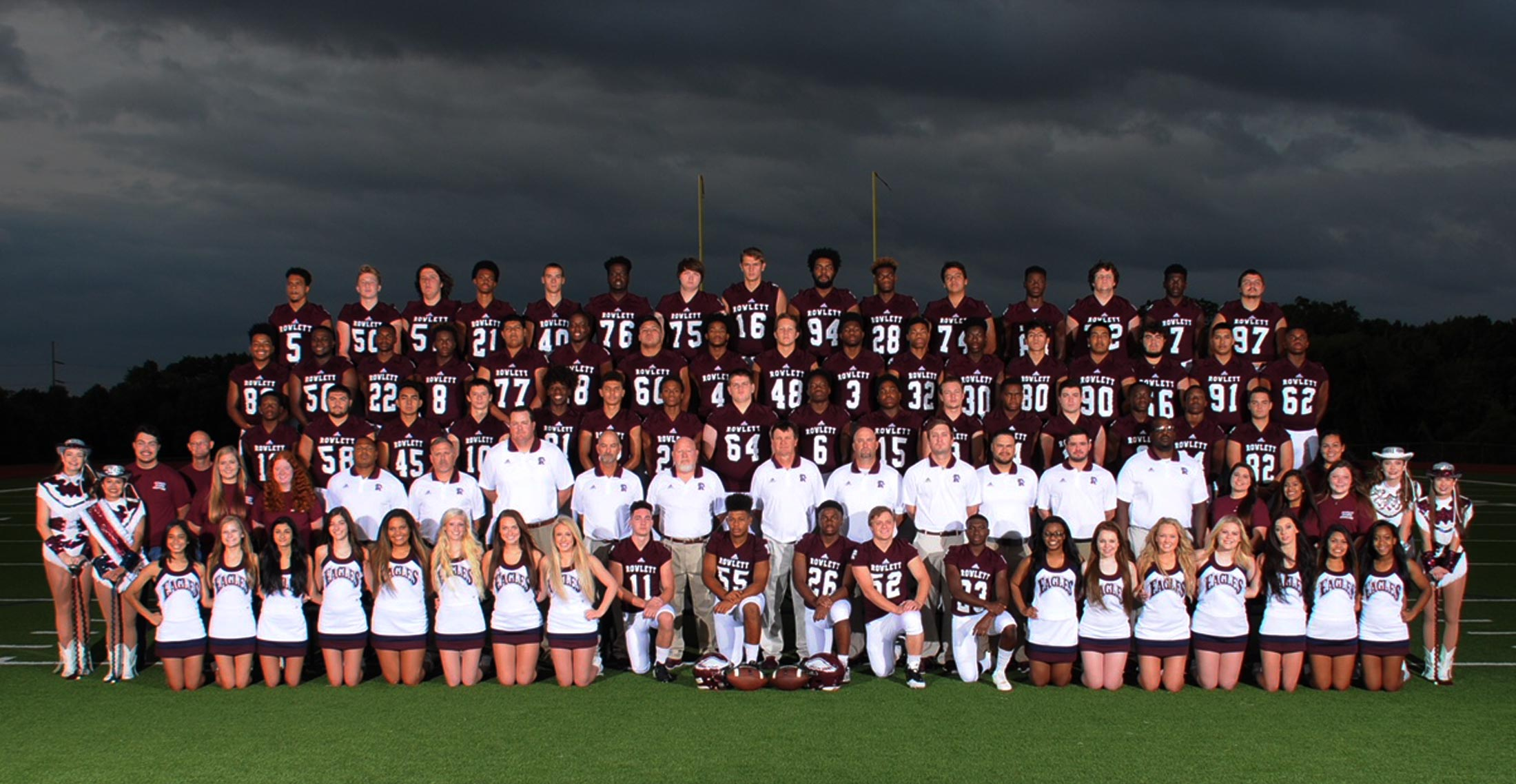 RHS EAGLES VARSITY FOOTBALL TEAM